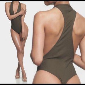 Ribbed Bodysuit